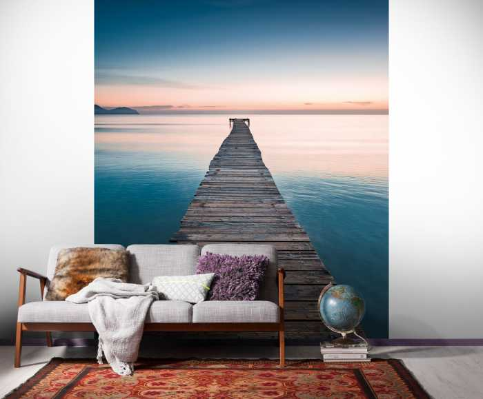 Poster XXL impression numérique Morning Breeze