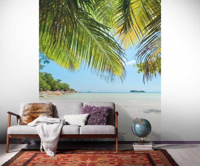 Poster XXL impression numérique Under The Palmtree