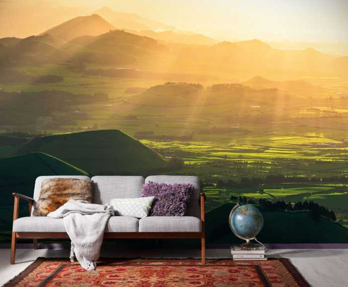 poster xxl panoramique intiss the shire de stefan hefele. Black Bedroom Furniture Sets. Home Design Ideas