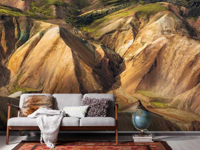 Poster XXL impression numérique Shiny Mountains