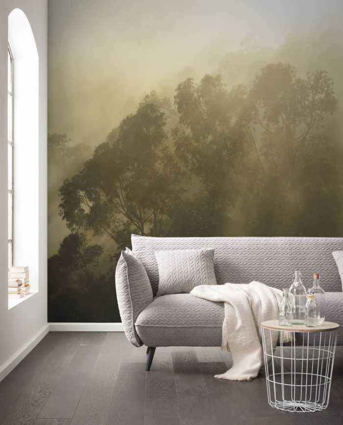 poster xxl panoramique intiss forest land de stefan hefele. Black Bedroom Furniture Sets. Home Design Ideas