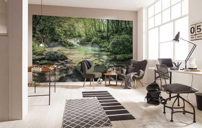 Poster XXL impression numérique Tranquil Pool