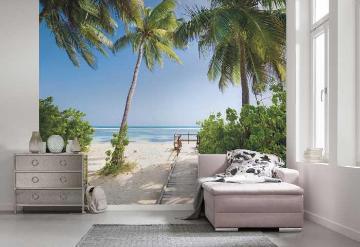 Poster XXL impression numérique Palmy Beach