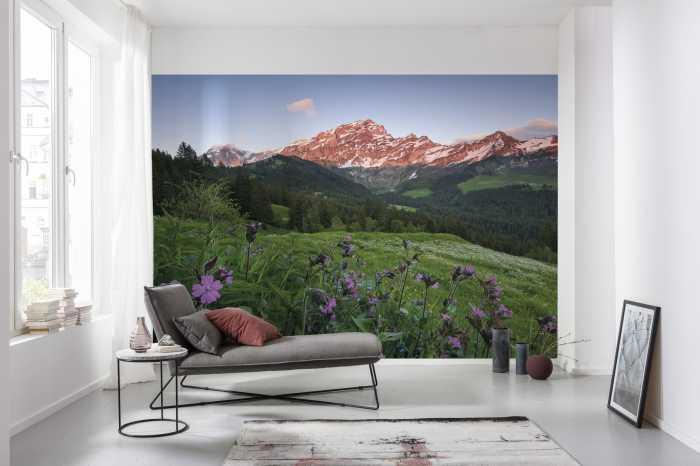 Poster XXL impression numérique Picturesque Switzerland