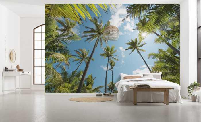 Poster XXL impression numérique Coconut Heaven