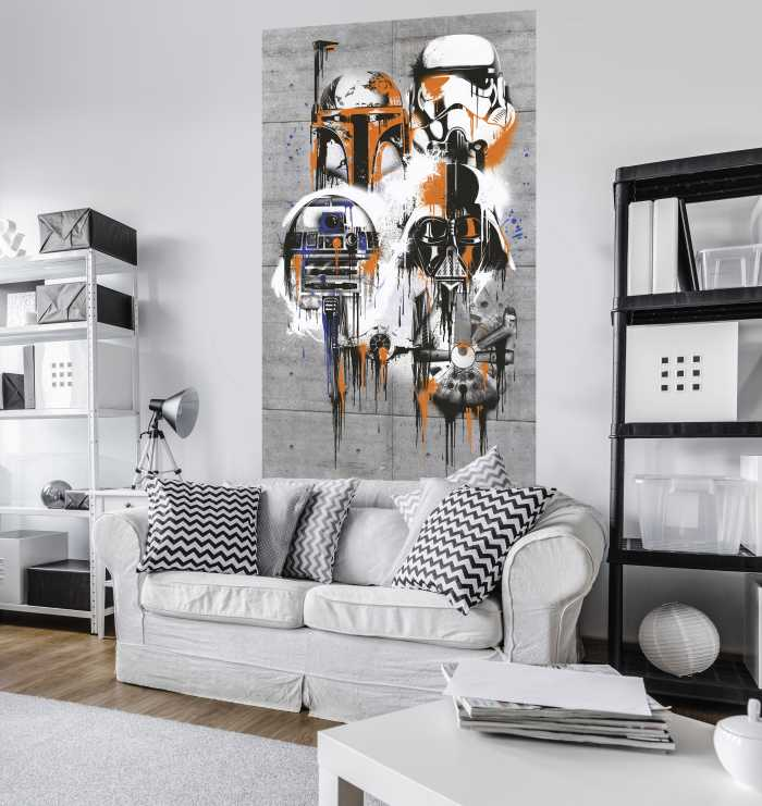 Panneau sur intissé  Star Wars Celebrate The Galaxy