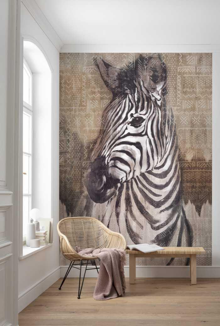 Poster XXL impression numérique Zebra