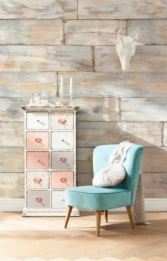 Photo murale intissé Shabby Chic