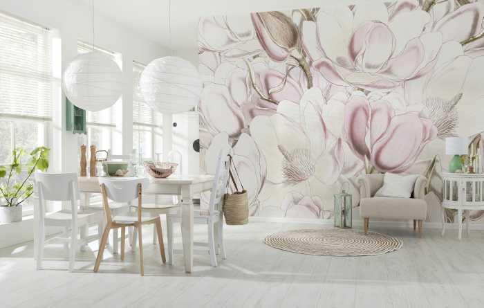 Photo murale intissé Petals
