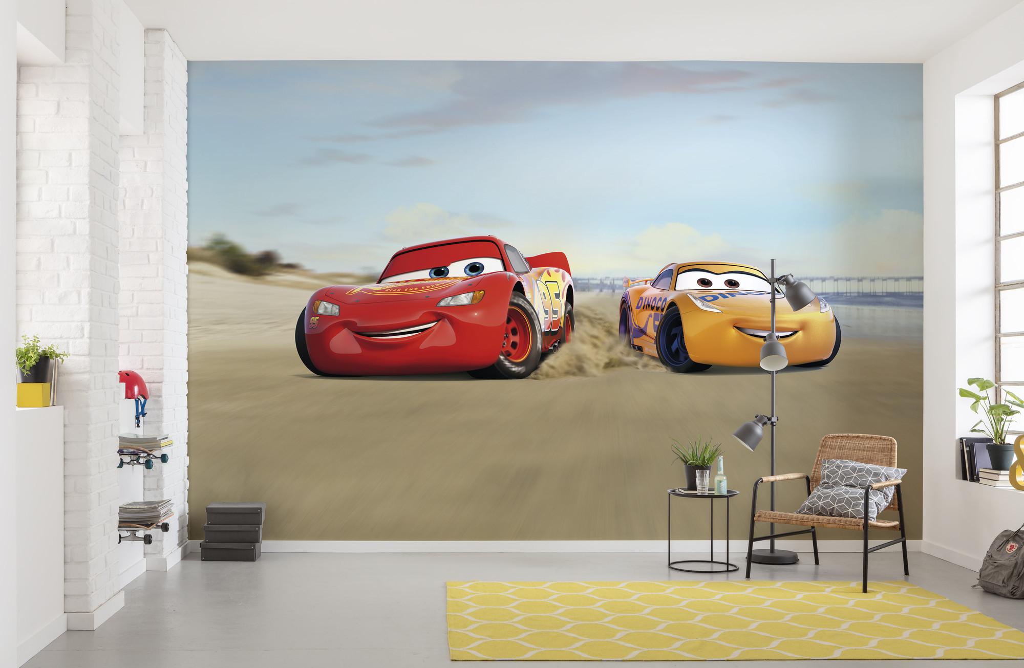 Cars Beach Race