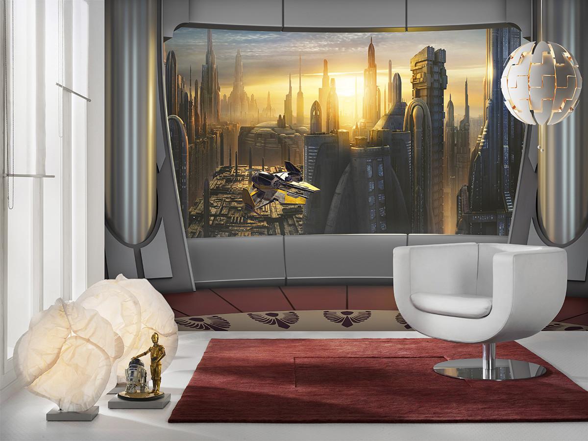 Star Wars Coruscant View
