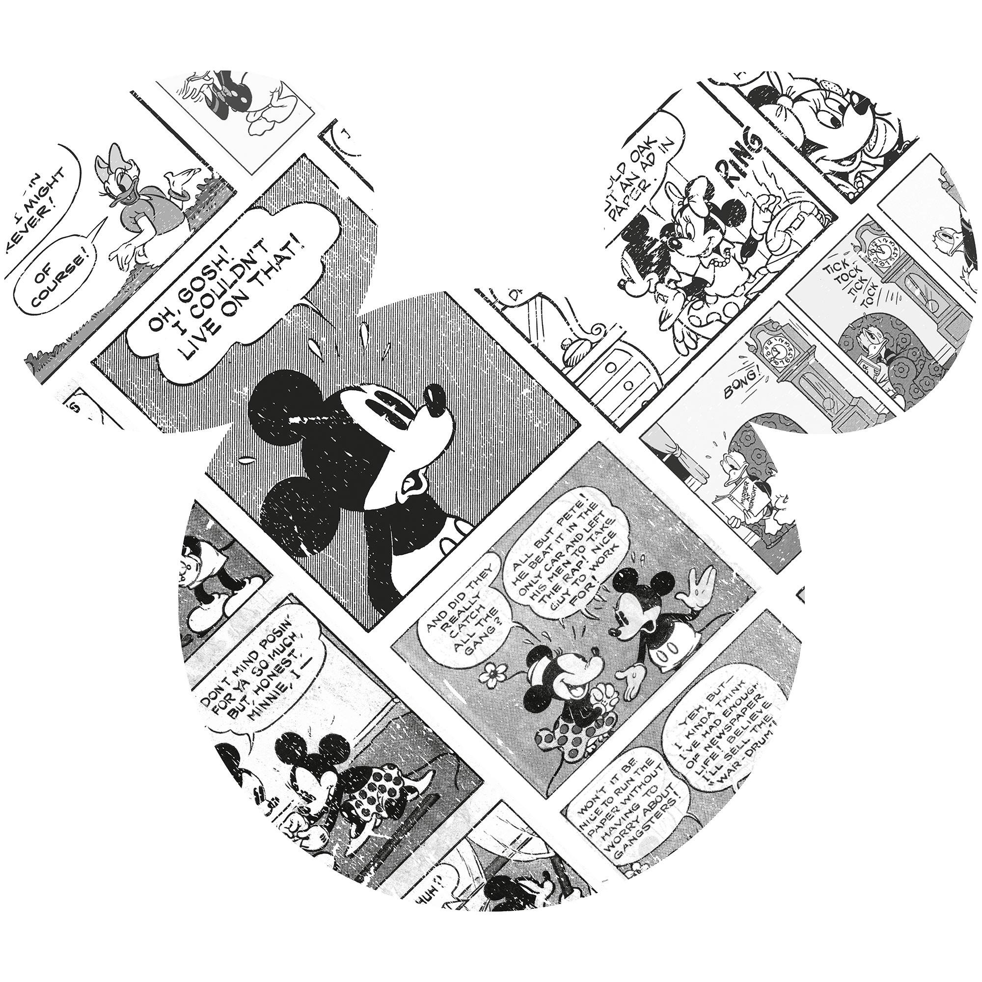 Mickey Head Comic Cartoon