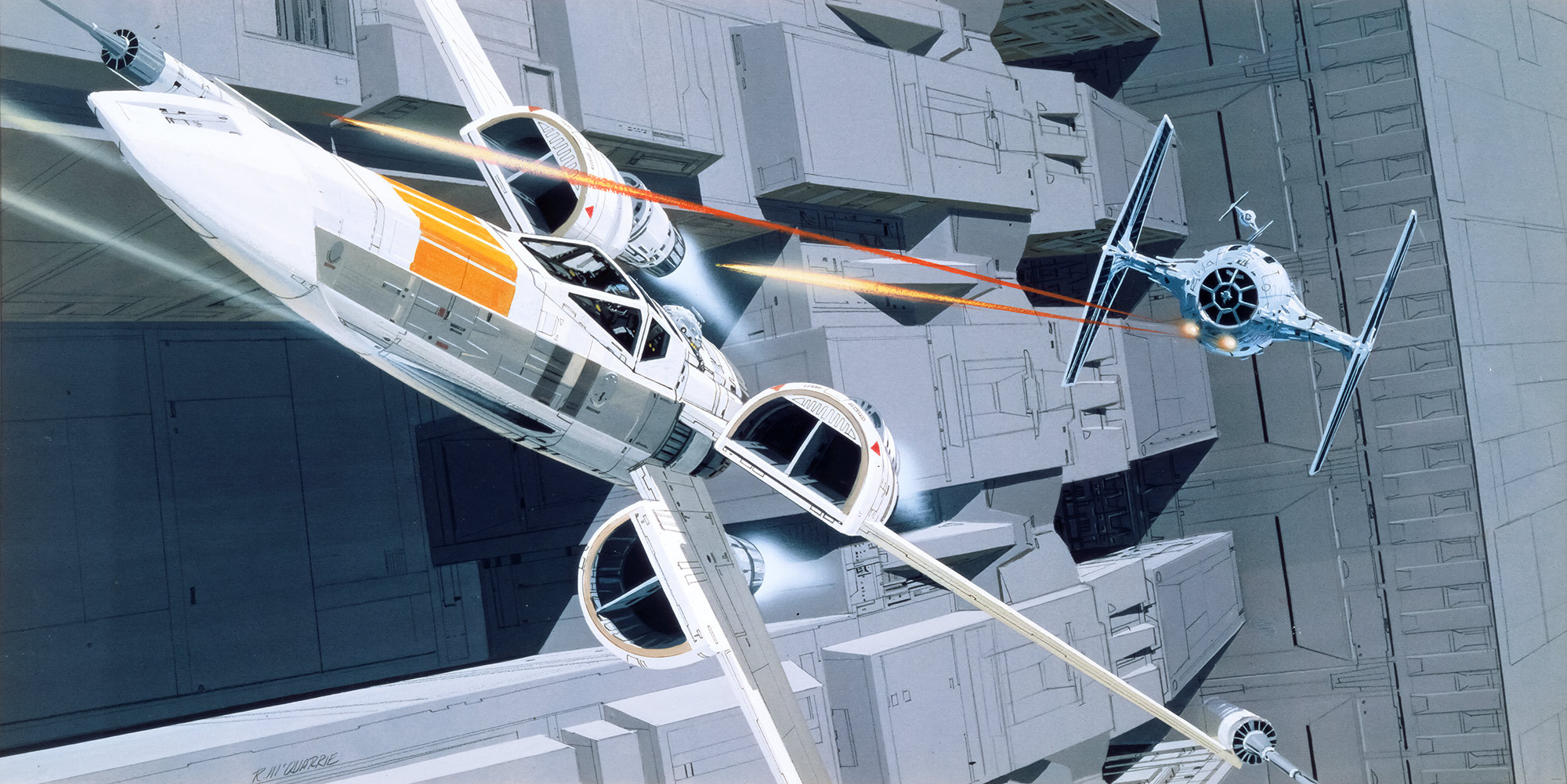 Star Wars Classic RMQ X-Wing vs TIE-Fighter